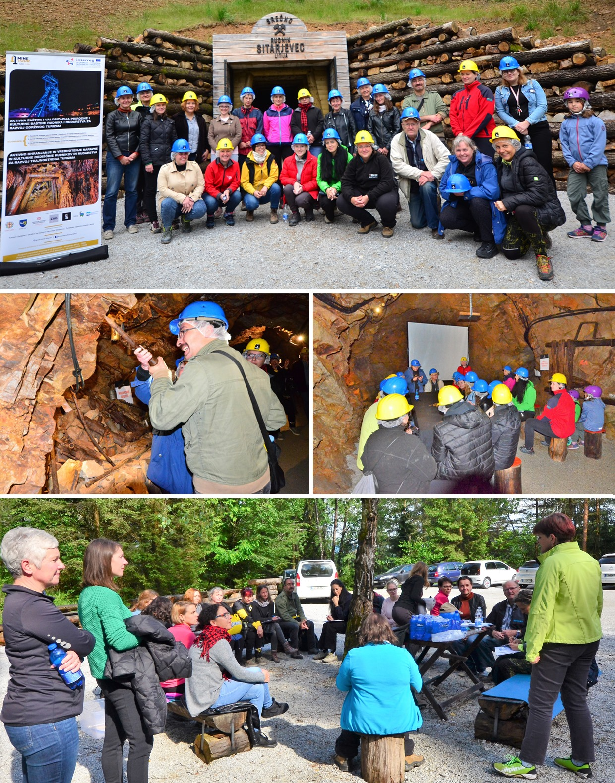 Mine Tour Izobraževanje vodnikov_litija